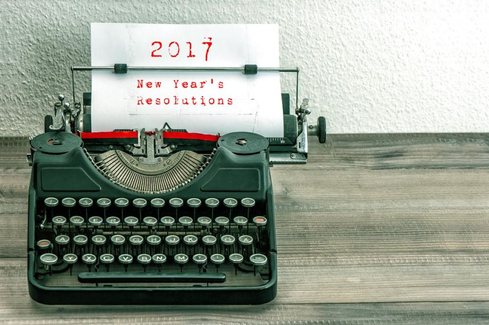 New Year's Resolutions 2017